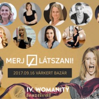 Szombaton újra Womanity Fesztivál a Várkert Bazárban!