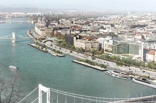 Zöld utat kapott a zöldebb rakpart Budapesten