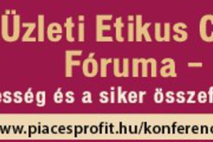 Üzleti Etikus Cégek Fóruma - június 4-én