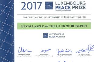 Luxemburg-békedíjat kapott László Ervin