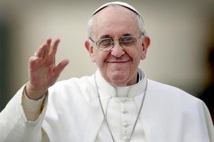 Ferenc pápa a környezetvédelemért