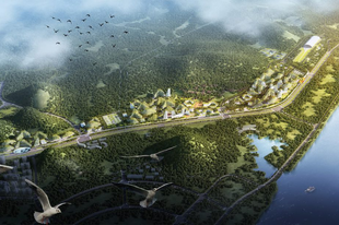 "A függőleges erdő után itt a kínai ,,Forest City""!"