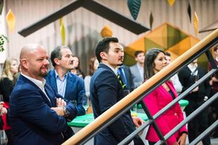 A jövő irodája Skandináv erdő stílusban