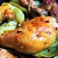 Korianderes, római köményes csirkecomb