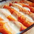 Paradicsomos tortilla tekercsek