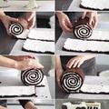 Hogyan készítsünk csíkos csokoládétortát?