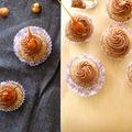 Ez jutott eszembe a mogyoróról: Nutella cupcake (gluténmentes)