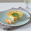 Sós, de nem pogácsa: Kecskesajtos-fehérboros quiche