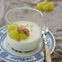 Uncsi sajttál helyett: Kecskesajtos panna cotta