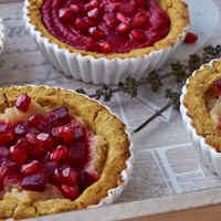 A tél áldása tortácska: sütőtökös birsalmás céklás gyerekdesszert