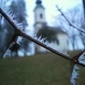 Zamárdiban a tél