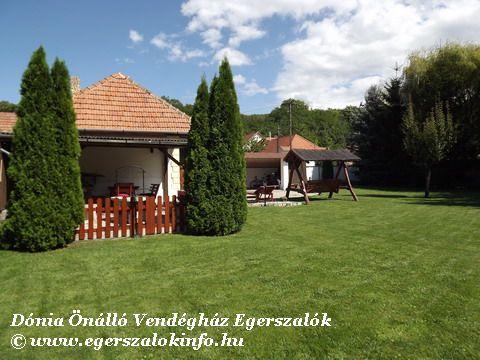 Udvar - Egerszalók, Dónia önálló vendégház