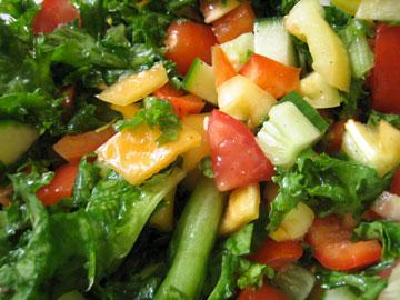 Vitamindús, egészséges étel
