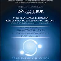 A Közösségi Értékek Műhelyének első őszi programja