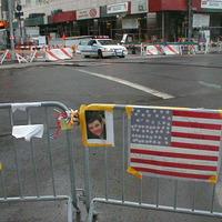 Eltüntek!  A World Trade Centernél