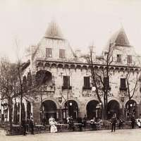 Budapest kávéházai régi fotókon