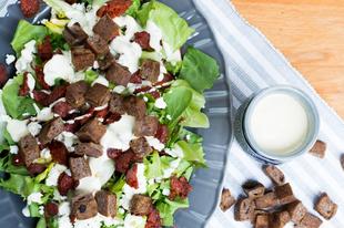 Saláta diómajonézzel