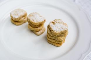 Mandulalisztes gluténmentes keksz