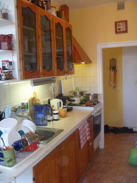 A konyha - Eladó a lakásunk