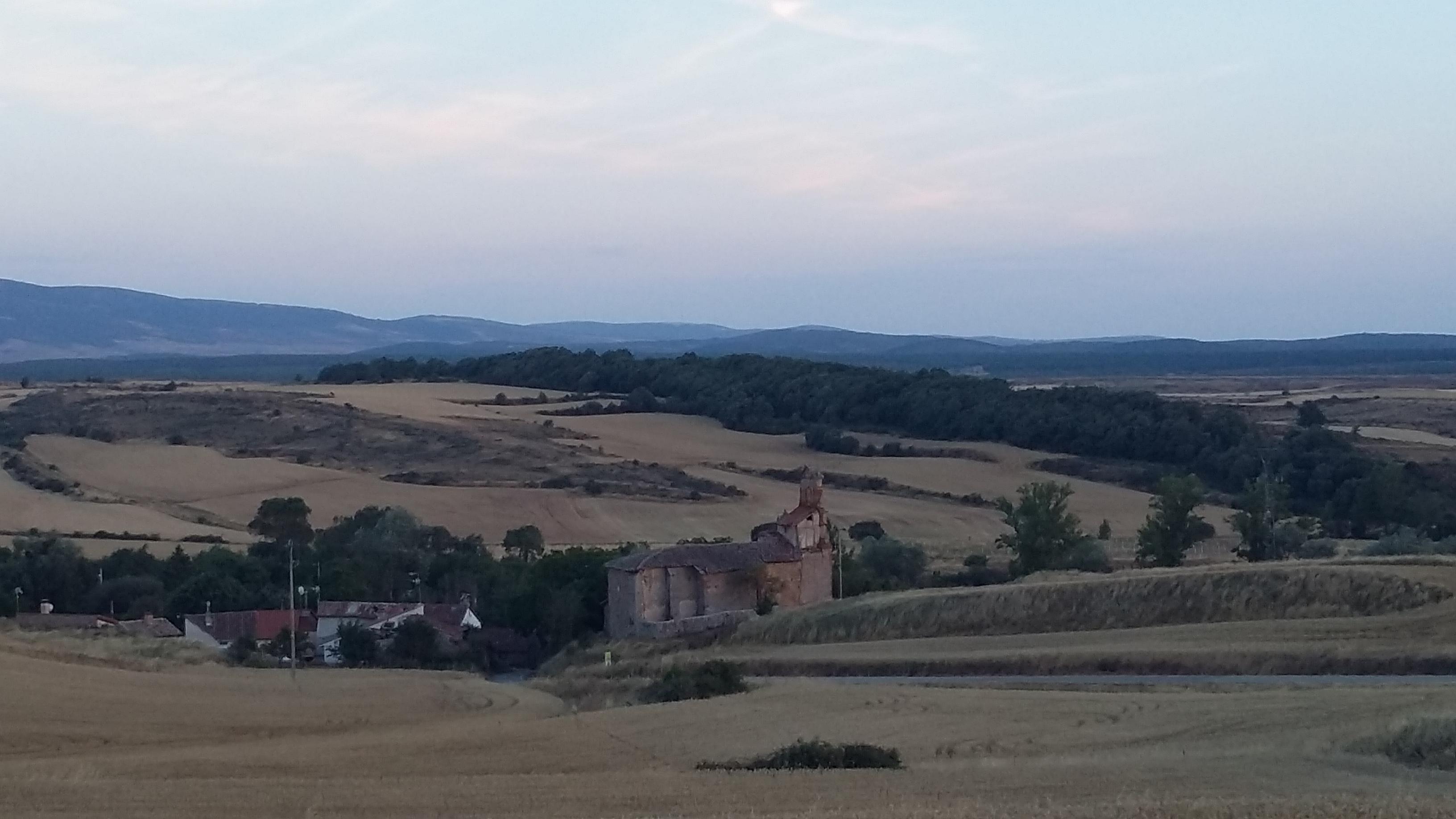 Ages előtt (Burgostól kb 25 km-re) ötödik éjszaka.