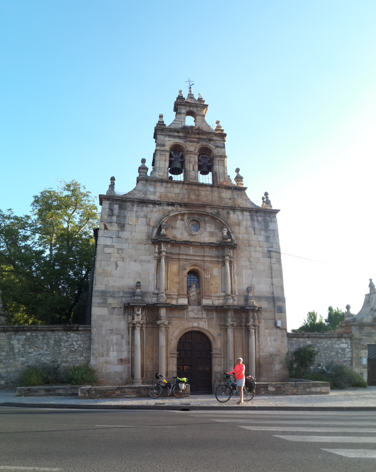 Cacabelos Santuario Virgen de las Angustias. A tizedik reggel