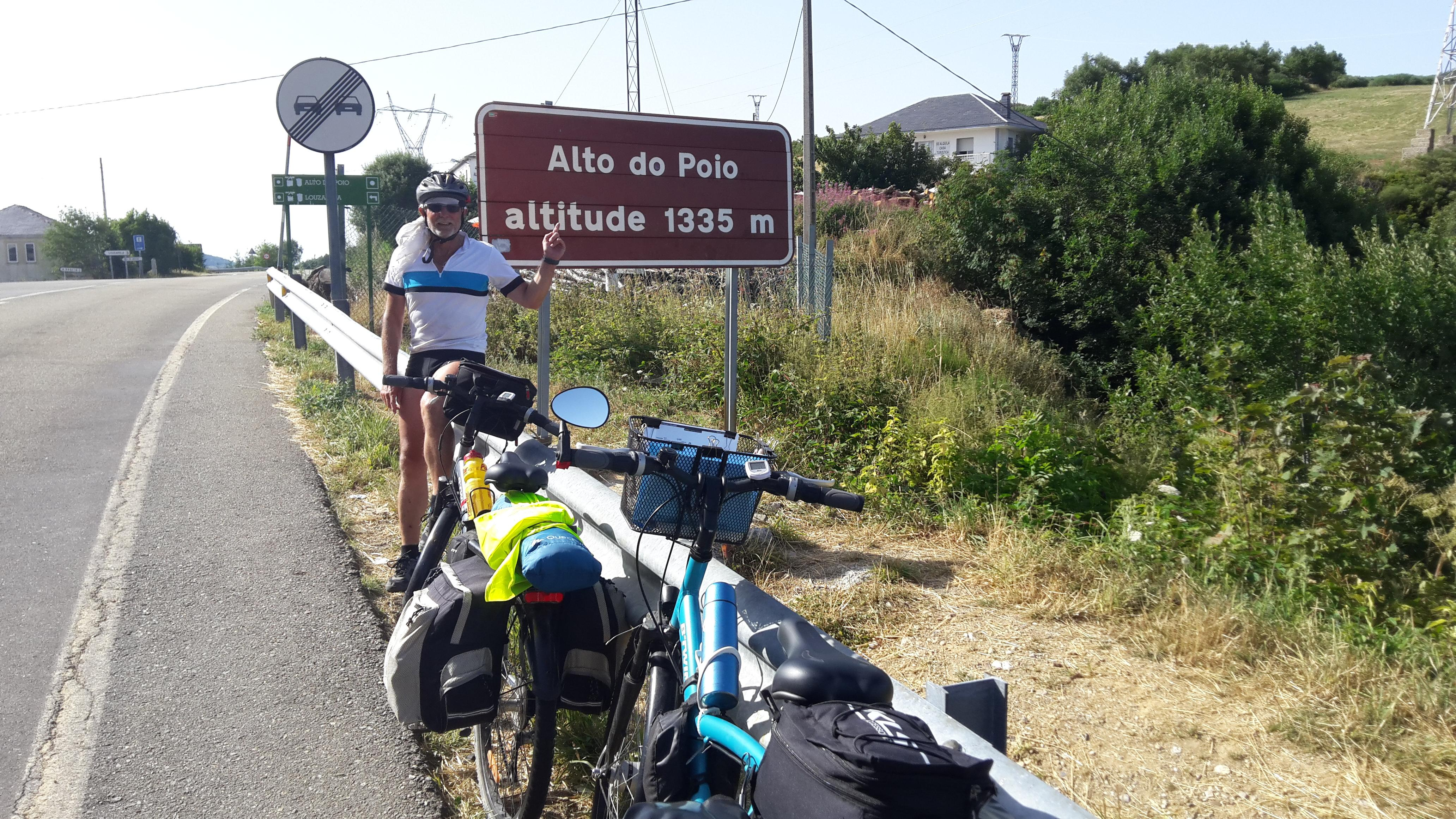 Alto de San Roque 1270 m.