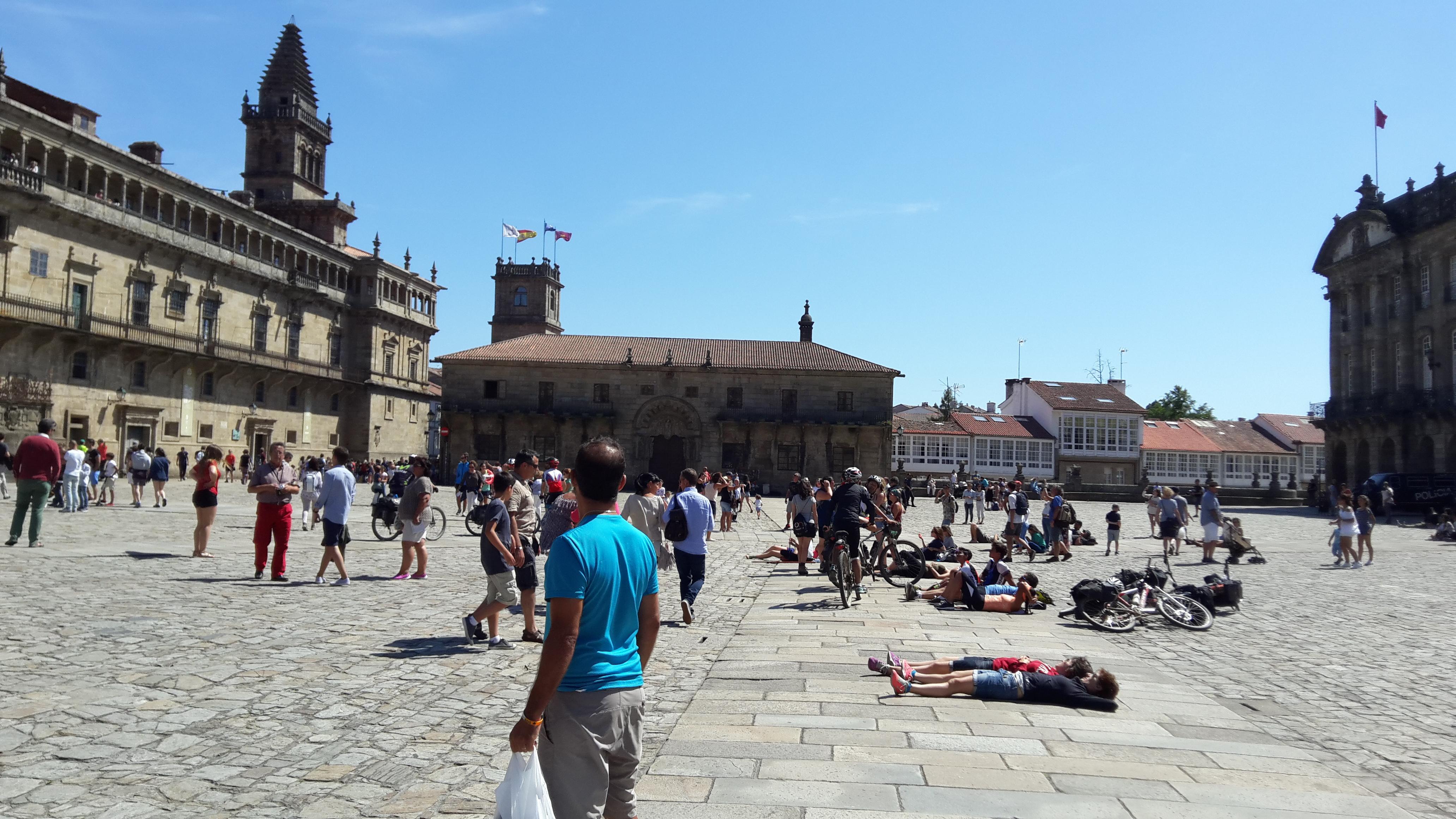 Santiago de Compostela Plaza del Obradoiro