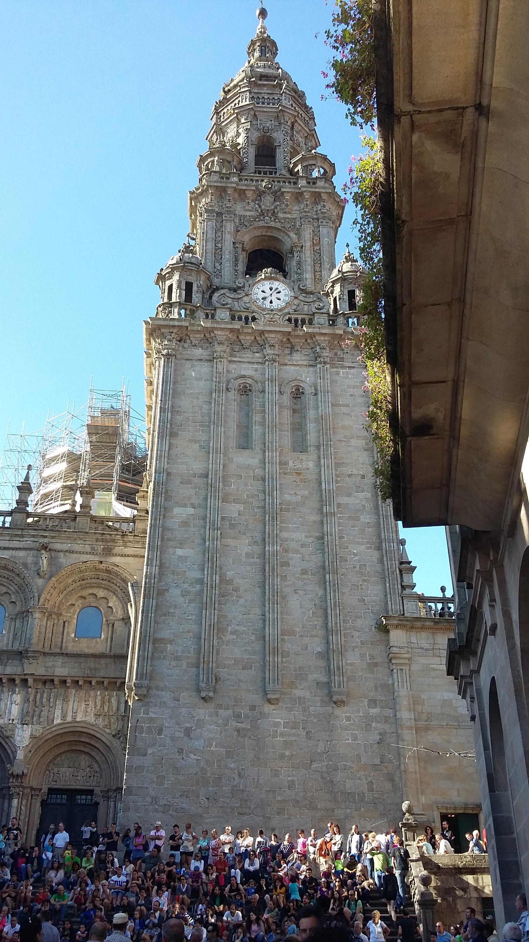 Santiago de Compostela. A katedrális.