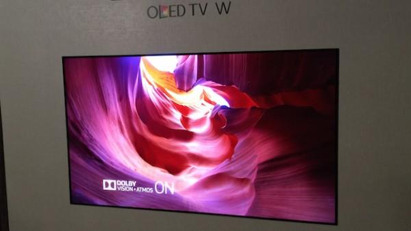 Az LG új televíziója - CES 2017