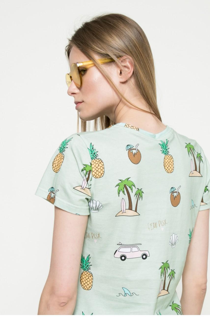 answear.hu nyári póló ananász, trópusi