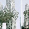 Zavaró szöuli toronyház-koncepció