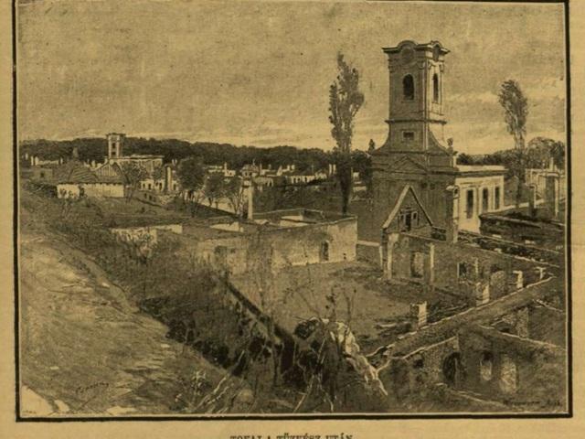 Tokaj pusztulása 1890-ben...