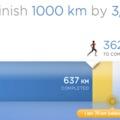 1000km egy év alatt