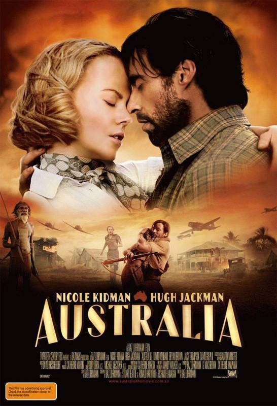 Ausztrália 2008, romantikus, kaland /stagevu/