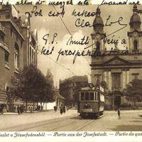 Horánszky utca 13. Szendrey Júlia és Krúdy Gyula otthona.