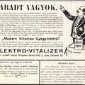 Elektromos árammal gyógyultak egykor Budapesten