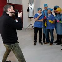Így készült a Comedy Central orvosos promója