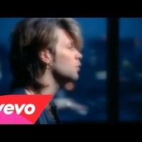 Bon Jovi..mert ma szar kedvem van, és valami lélekemelő kell..