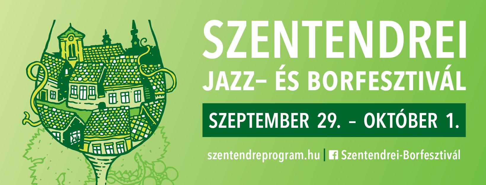 Jön az 5. Szentendrei Jazz- és Borfesztivál