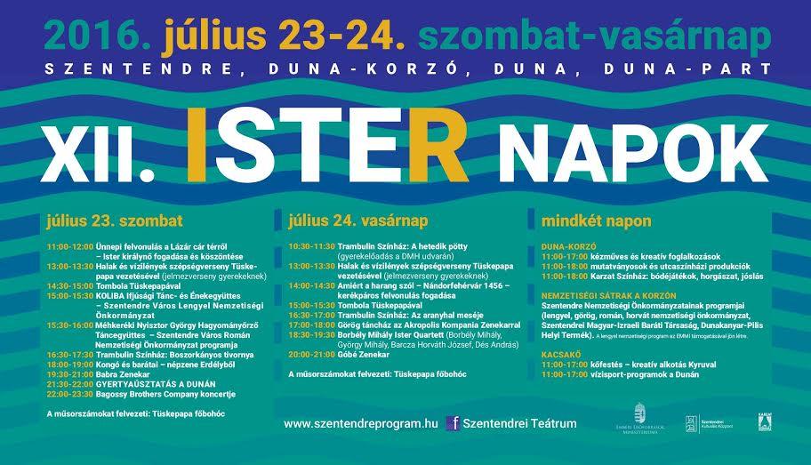 Hétvégén jön az Ister Napok, átadják a megújult Postás Strandot