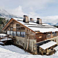 A tökéletes karácsonyi faház a Francia-Alpokból