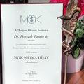 Magyar Orvosi Kamara Média díj 2017