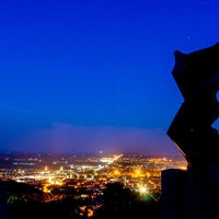 Fotócsütörtök - Kékóra a Niké-szobornál