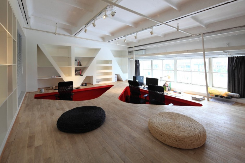 Taranta Creations have designed their own studio located in Shanghai, China.