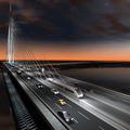 Belgrád: új híd a Száván