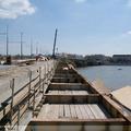 Bontás és építés a Margit hídon