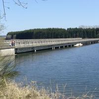 Elveszett autópálya viadukt Csehországban
