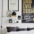 Lakástúra - Fekete és fehér berendezés