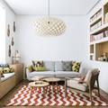Tágas nappali, ebédlő és külön háló, 40 m2-en