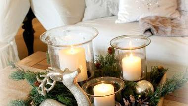 Minden napra egy ötlet - Karácsonyi asztaldísz